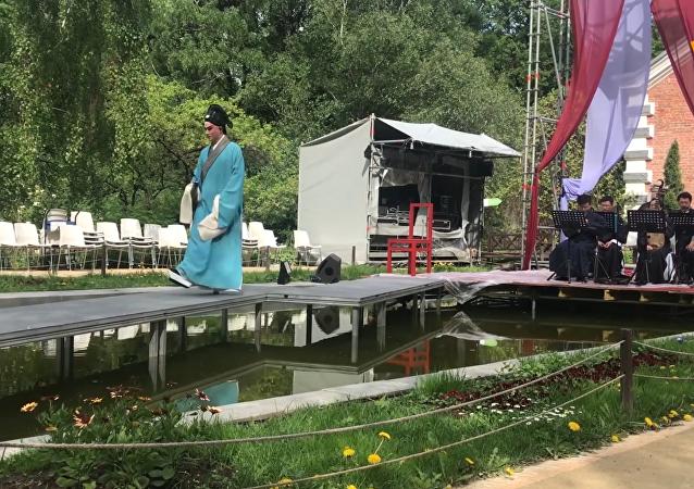 崑曲《牡丹亭》為 「契訶夫國際戲劇節」揭幕