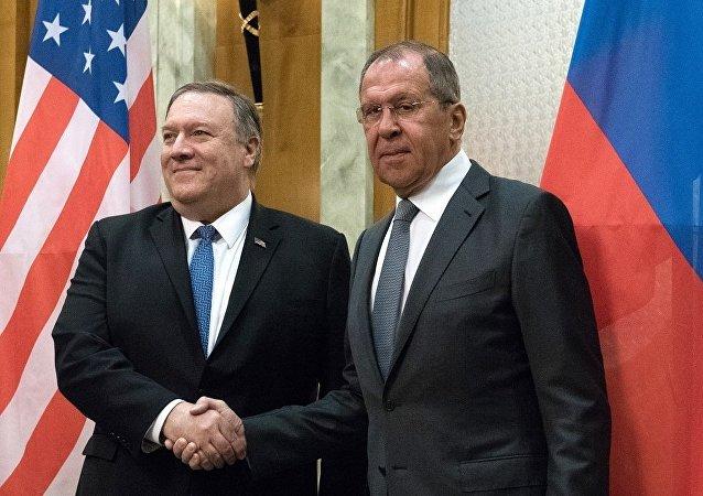 俄外長稱已經與美國務卿討論雙邊關係和國際熱點問題