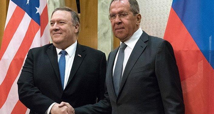 俄外长称已经与美国务卿讨论双边关系和国际热点问题