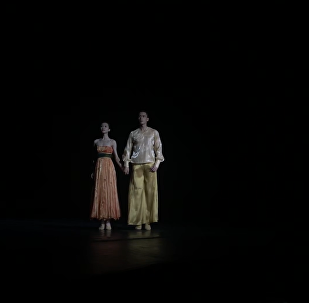 芭蕾舞劇《長恨歌》在莫斯科彩排