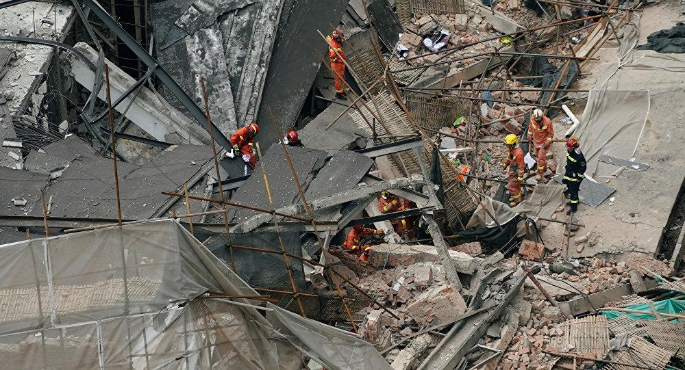 华媒:上海长宁区一厂房发生墙体坍塌 致10人死亡