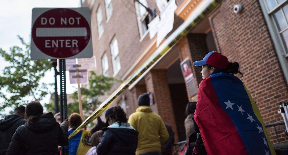 委內瑞拉反對派稱已控制該國駐美大使館