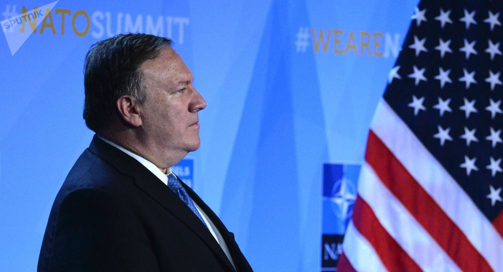 美国国务卿迈克·蓬佩奥