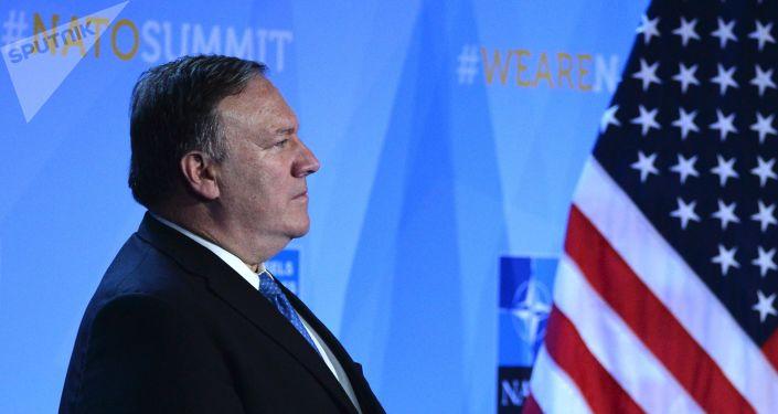 美國國務卿邁克·蓬佩奧