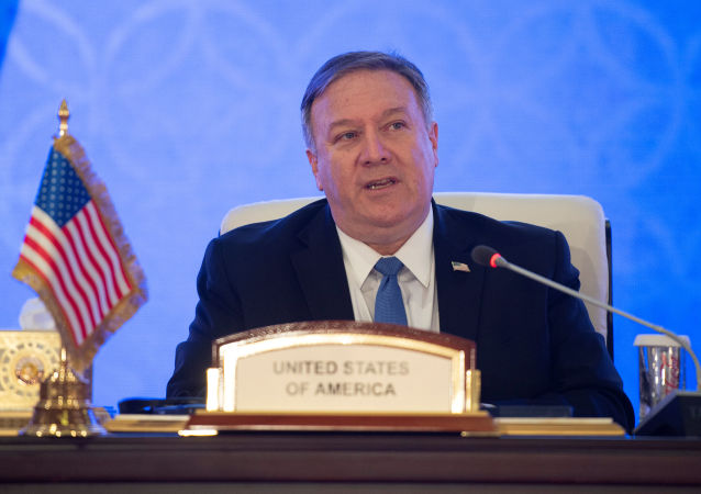 美国国务卿蓬佩奥