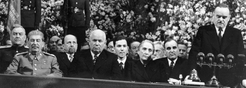 苏联莫斯科大剧院于1949年12月21日约瑟夫·维萨里奥诺维奇·斯大林70岁生日之际举行的庆祝大会
