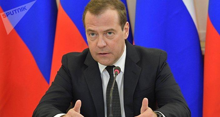 俄罗斯总理德米特里∙梅德韦杰夫