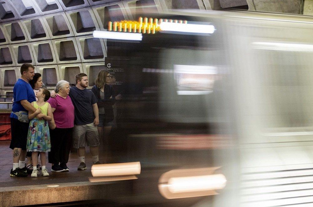 华盛顿的地铁