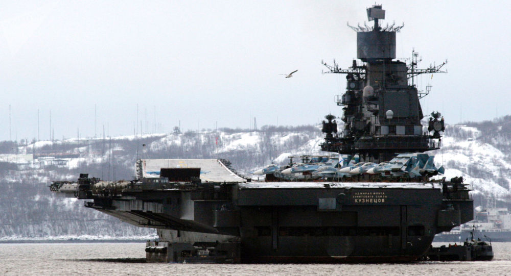 大修後的「庫茲涅佐夫海軍上將「號航母將裝備新型防空系統