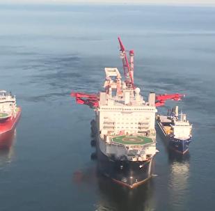 波羅的海沿岸開始「北溪-2」號項目管道鋪設工作