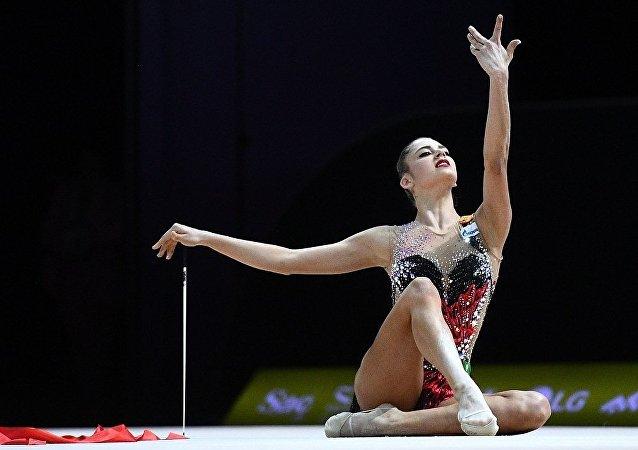 俄艺术体操队夺得欧锦赛团体金牌