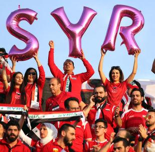 叙利亚的女足比赛在战后首次举行