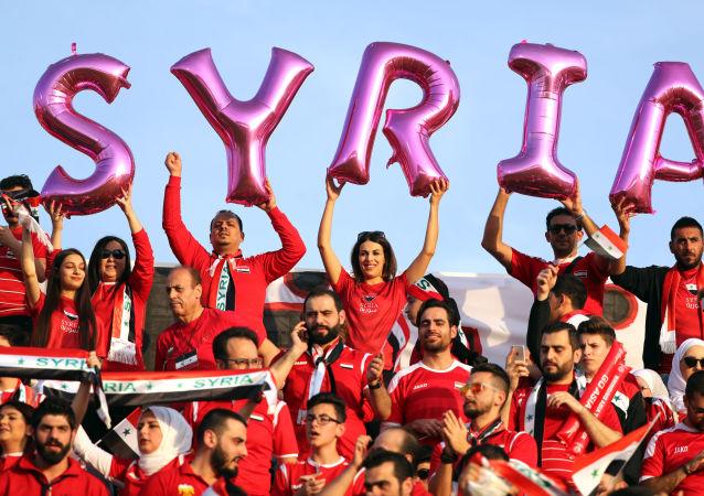 敘利亞的女足比賽在戰後首次舉行