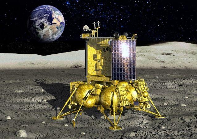"""""""月球-25""""星际站"""