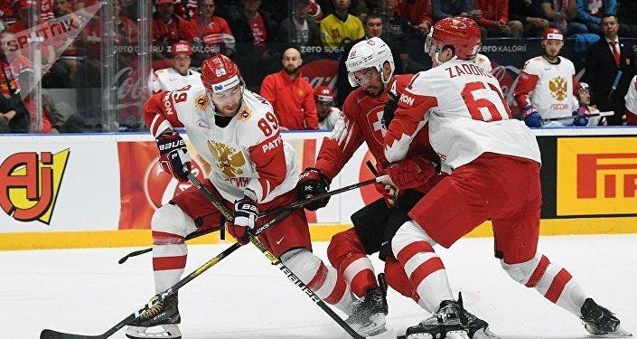 男子冰球世錦賽:俄羅斯取得六連勝