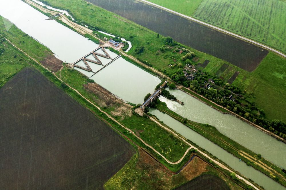 克拉斯诺达尔地区的水稻种植