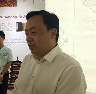 青白江国际木材交易中心总经理何仕海