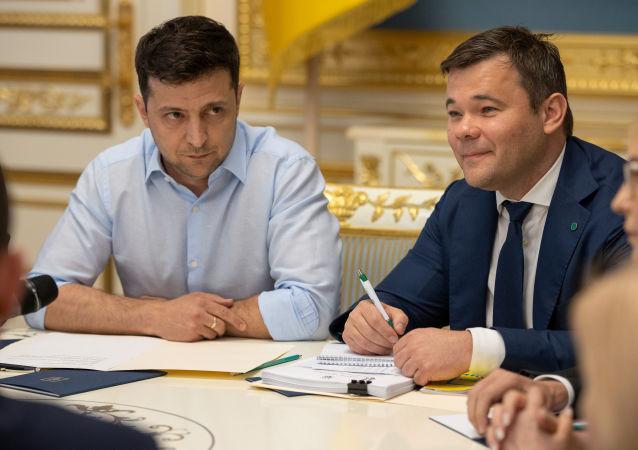 媒体报道乌克兰总统办公厅主任辞职