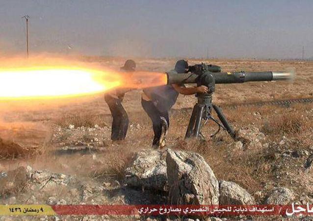IS武裝分子(資料圖片)