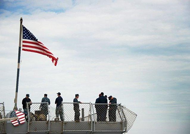 伊朗伊斯蘭革命衛隊:美國軍艦在中東行動完全在伊軍控制之下