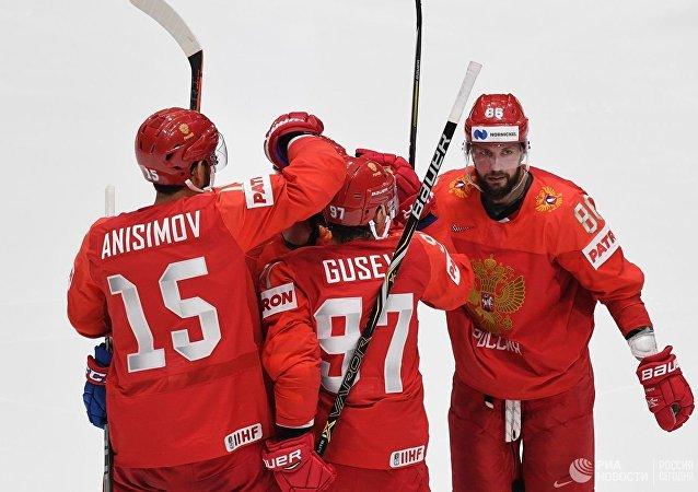 美国冰球队长谈四分之一决赛对手俄罗斯队