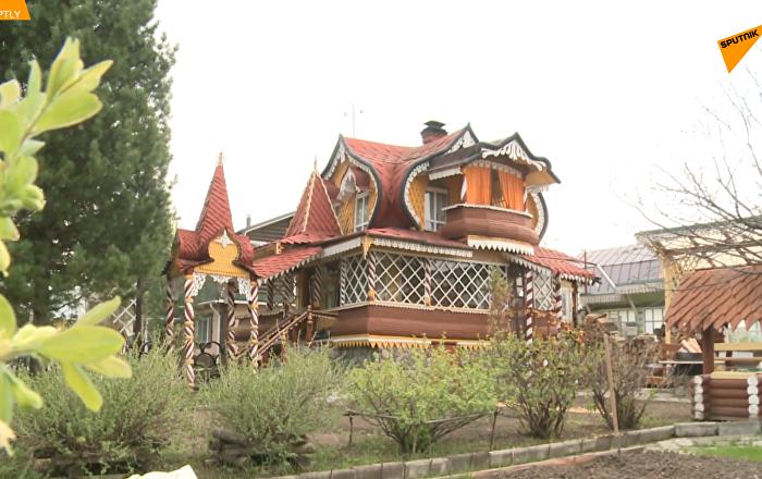烏拉爾大師建造童話閣樓