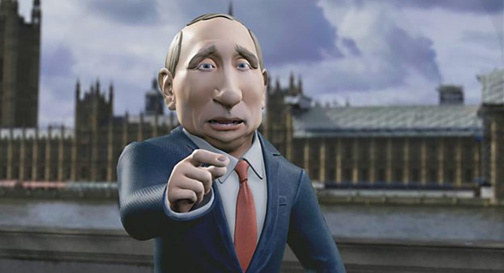 """克里姆林宫评""""普京""""主持的英国节目"""