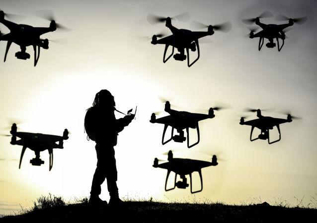俄强力部门将获准击落机场上空的无人机