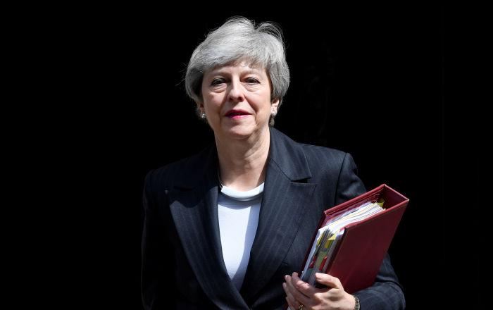 英国首相特雷莎·梅。