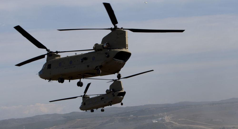CH-47契努克直升机