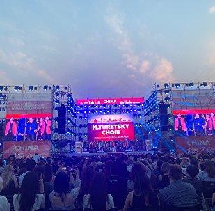 图列茨基合唱团在北京举办演出