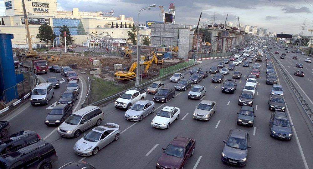 莫斯科的列宁格勒公路(资料图片)