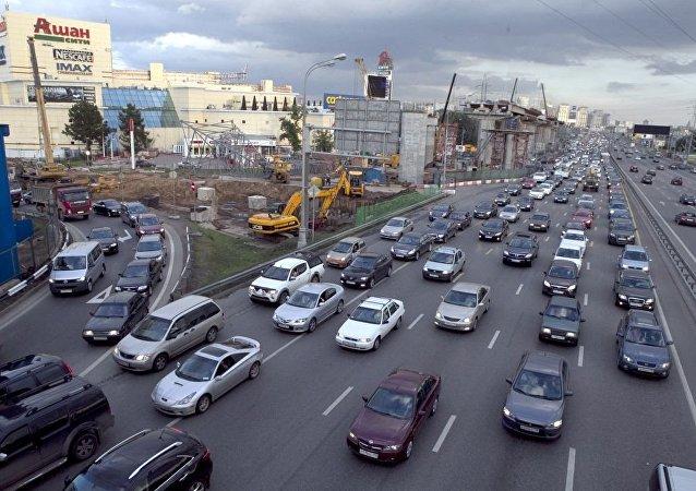莫斯科的列寧格勒公路(資料圖片)