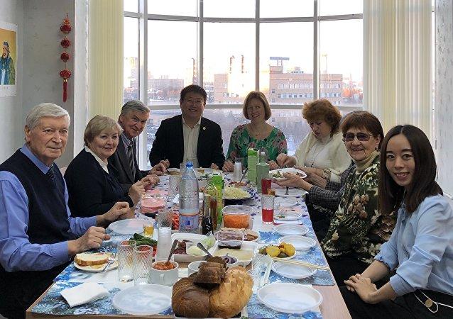 中俄人文合作发展中心团建活动