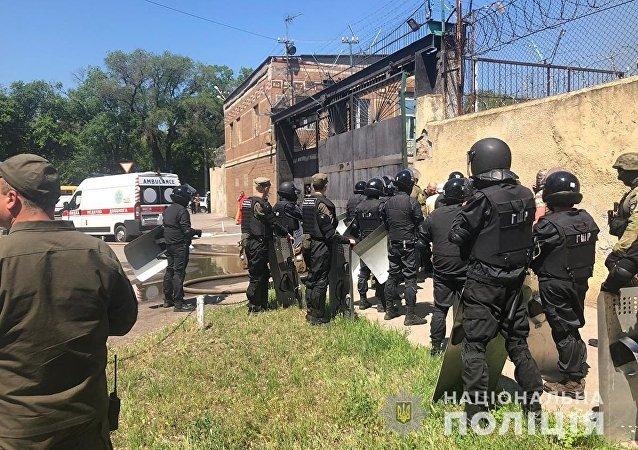 烏人權事務專員:烏克蘭敖德薩在押囚犯在暴亂期間將六人劫為人質