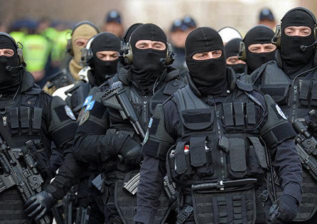 ROSU(自行宣布成立的科索沃共和国内务部特种部队)