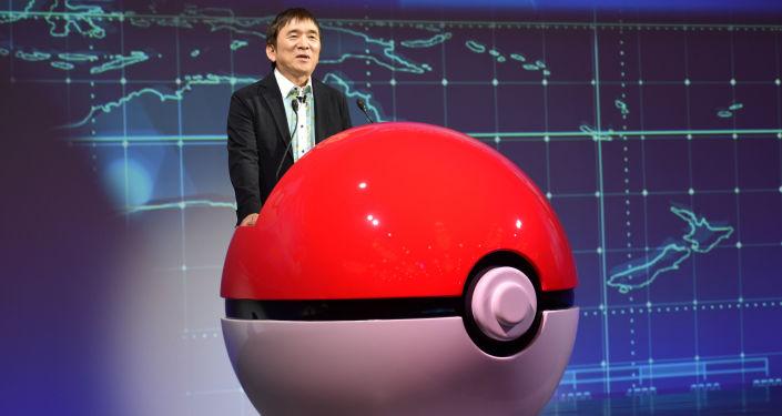 宝可梦公司总裁兼首席执行官石原恒和(Tsunekazu Ishihara)