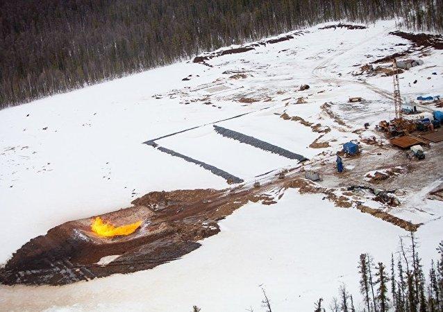 俄氣將於7月開始在查楊金油氣田開採天然氣