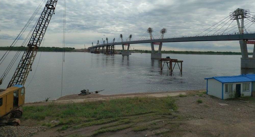 中俄黑河—布拉戈維申斯克黑龍江(阿穆爾河)大橋