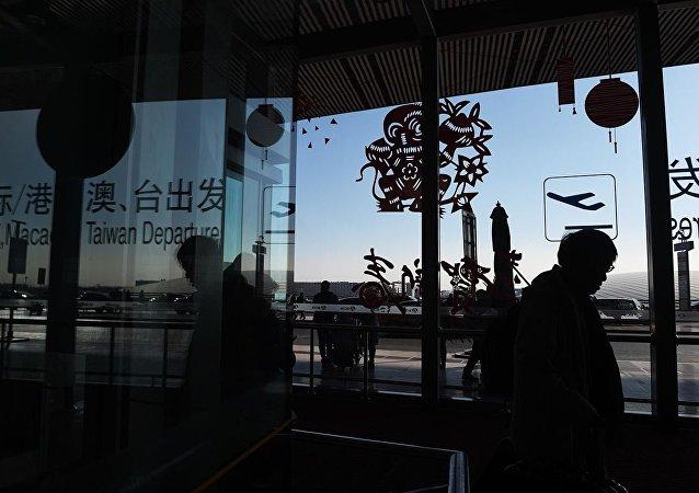 北京首都机场因天气原因取消航班227架