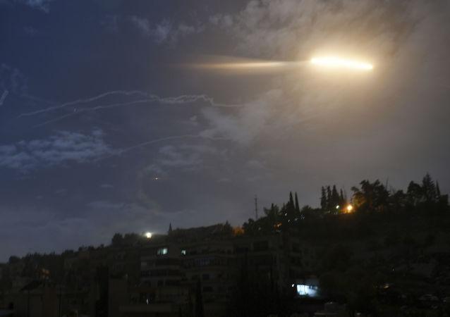 以色列导弹袭击叙机场视频曝光