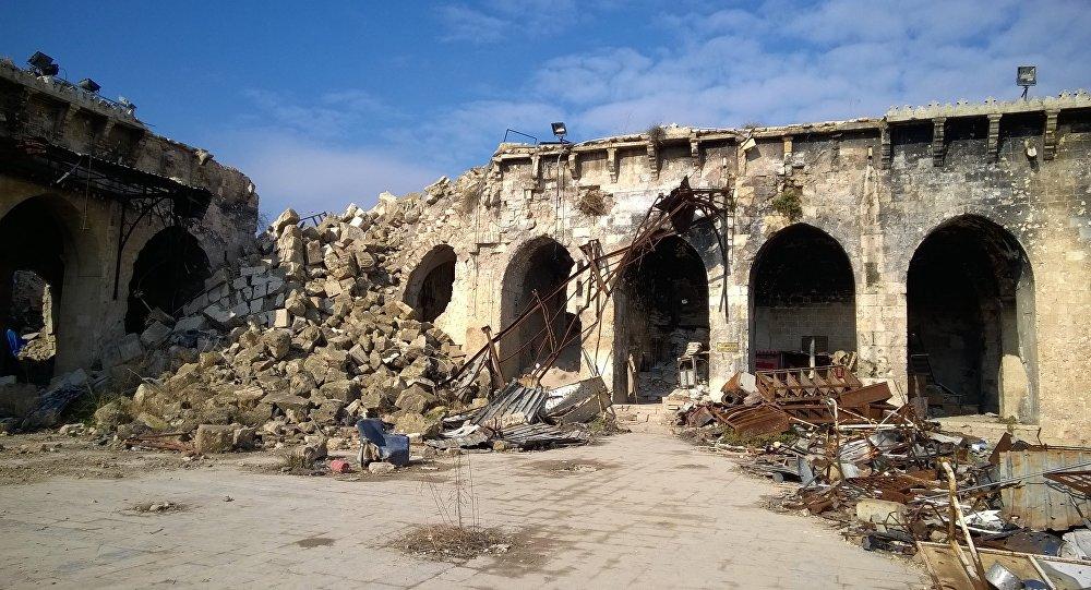 叙利亚阿勒颇东部地区积极展开住房和基础设施修复工作