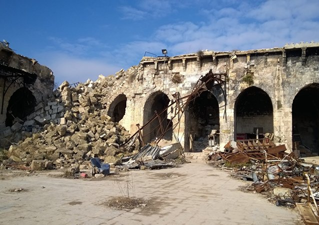 敘利亞阿勒頗倭馬亞清真寺將耗時8年修復