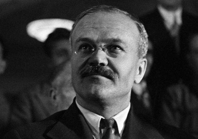 苏联人民委员会主席维亚切斯拉夫·米哈伊洛维奇·莫洛托夫