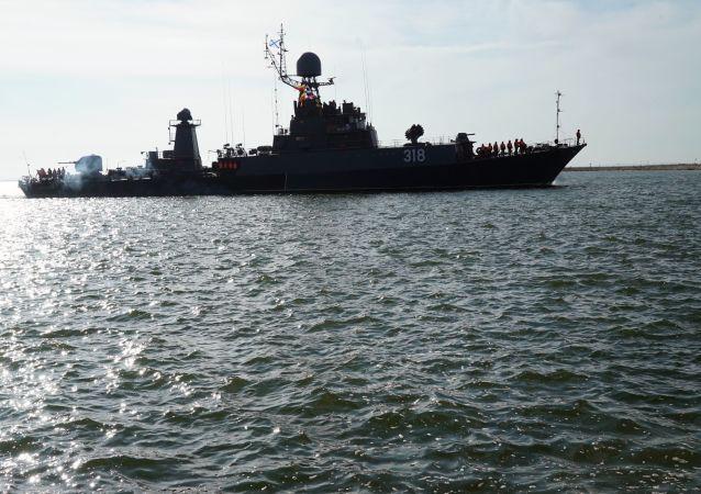 俄太平洋舰队舰艇将在鄂霍次克海实施火炮射击