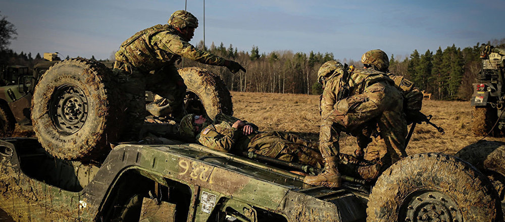 美国3名士兵在演习中丧生