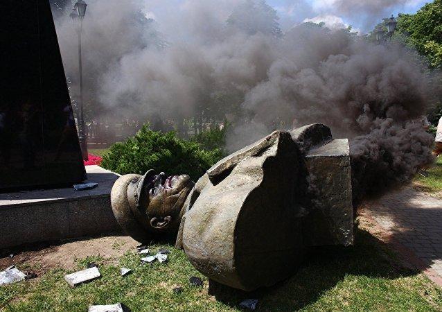 烏克蘭議員稱哈爾科夫市拆除朱可夫半身像是對歷史的侮辱