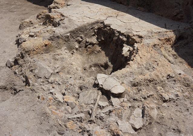 在保加利亞首都發現了一個新石器時代墓葬