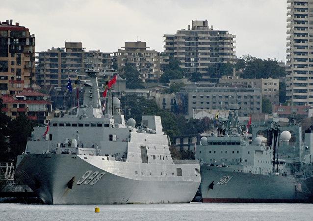 中國海軍護航編隊緣何停靠悉尼港