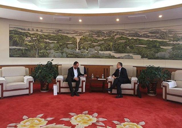 黑河市長:中俄黑龍江大橋主體通車確定應在今年10月份完成